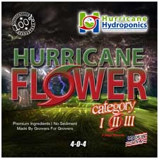 Hurricane Flower 1 Label