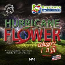 Hurricane Flower 3 Label