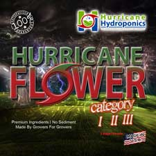 Hurricane Flower Label